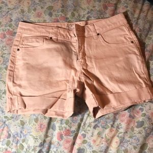 Apt. 9 pink shorts. Like new